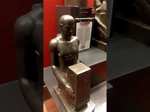 Alien Ancient Egyptian Statues