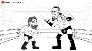 Daniel Bryan vs Big Cass WWE Tepki Karikatür Parodi (feat. Shinsuke Nakamura, Triple H ve daha fazla)