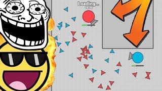DIEP.IO | IMPOSSIBLE MAZE TANK BIGGEST TRAP BATTLE! - Diep.io Gameplay