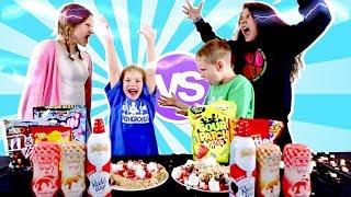 Twin Telepathy SUPER SWEET PIZZA Kids Challenge!