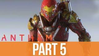 ANTHEM Gameplay Walkthrough Part 5 - IRON MAN (Full Game)