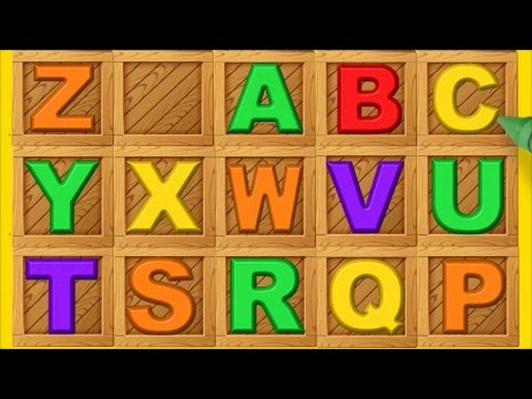 English alphabet - LEARN THE LETTERS OF THE ALPHABET