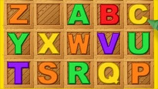learn the alphabet with puzzle abc letter boxes