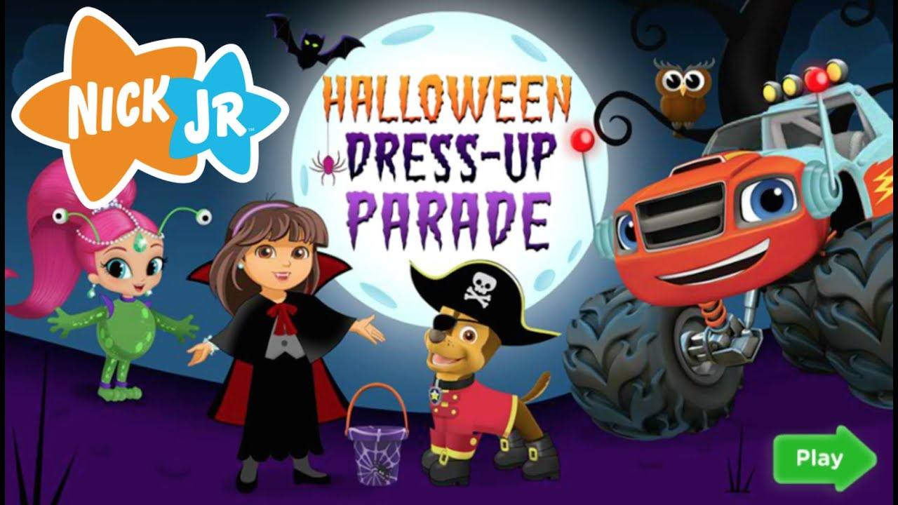 halloween dress up parade full new nick jr hd game episode youtube - Dress Up Games For Halloween