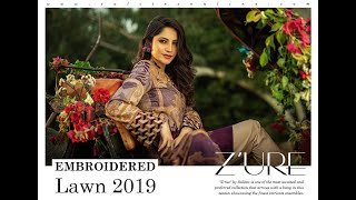 b9f84f375c Actress Neelam Muneer weaning Z'URE Lawn collection 19