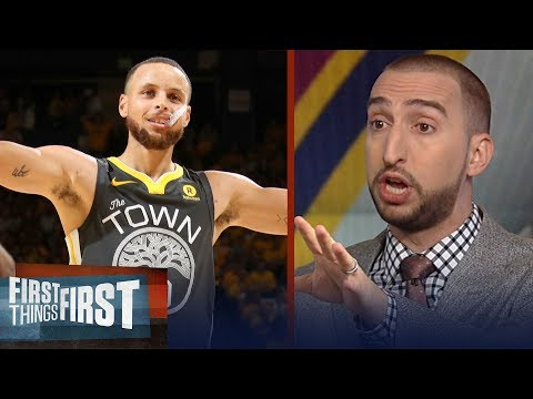 Nick Wright on Curry's Finals record nine 3's to defeat LeBron's Cavs | NBA | FIRST THINGS FIRST
