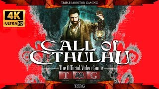 CALL OF CTHULHU [4K] | Triple monitor gaming 5760x1080