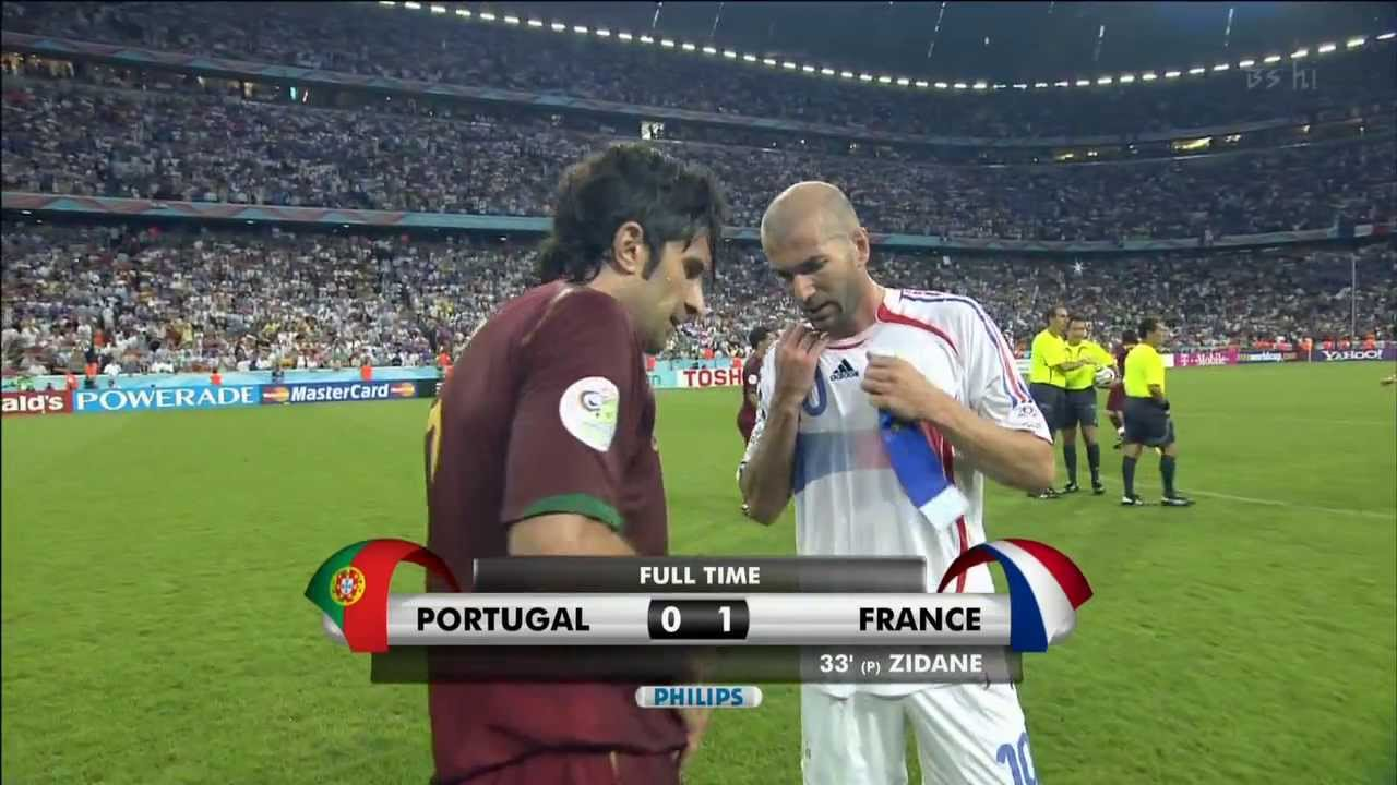 2006 FIFA WC France vs Portugal FT - YouTube