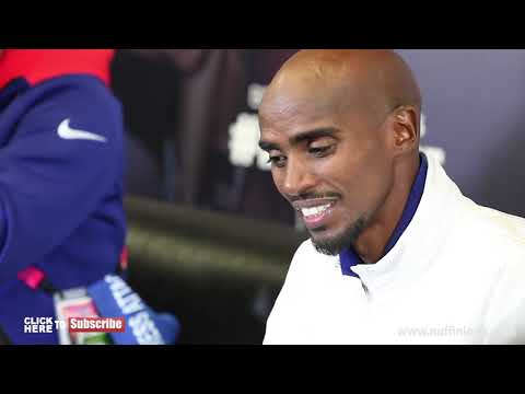 MO FARAH ATTACKS BRITISH MEDIA, ADDRESS DRUGS AND TELLS THEM