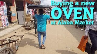 Buying a New Gas Oven at Alaba…