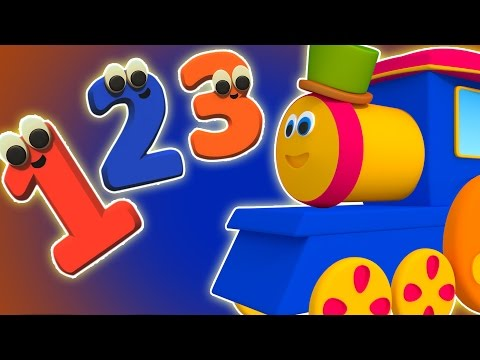 ボブ・ザ・トレイン|数電車|数字を学びます|キッズソング| Bob The Train Number Song | Kids Rhyme Collection | Baby Song