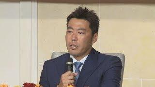 上原、涙の引退表明 44歳、現役最年長