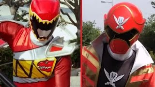 Power Rangers Dino Charge & Super MegaForce Team Up - How would it look?