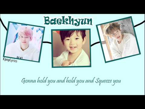 Love Song - Baekhyun ft Chanyeol (on Guitar) Lyrics