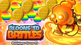 CAN WE WIN 10 MATCHES!?! - Bloons TD Battles - NEW BTD Battles Playing With Fire