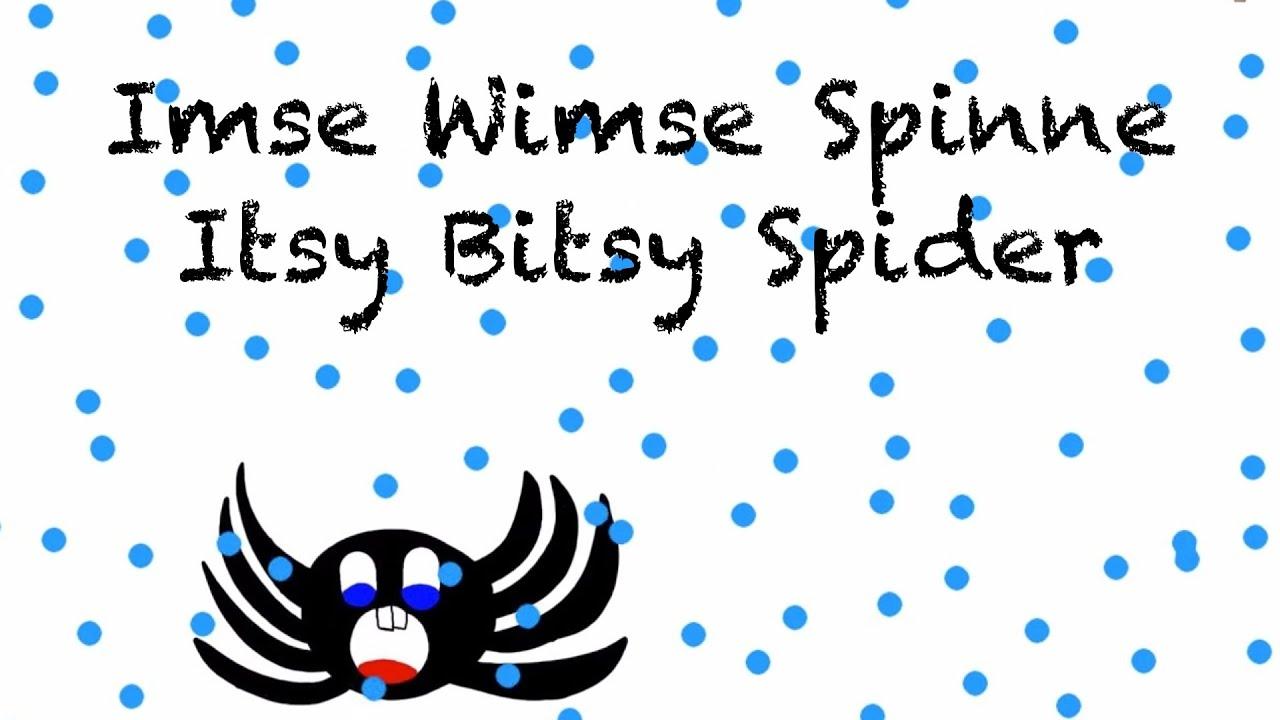Klitzekleine Spinne Text