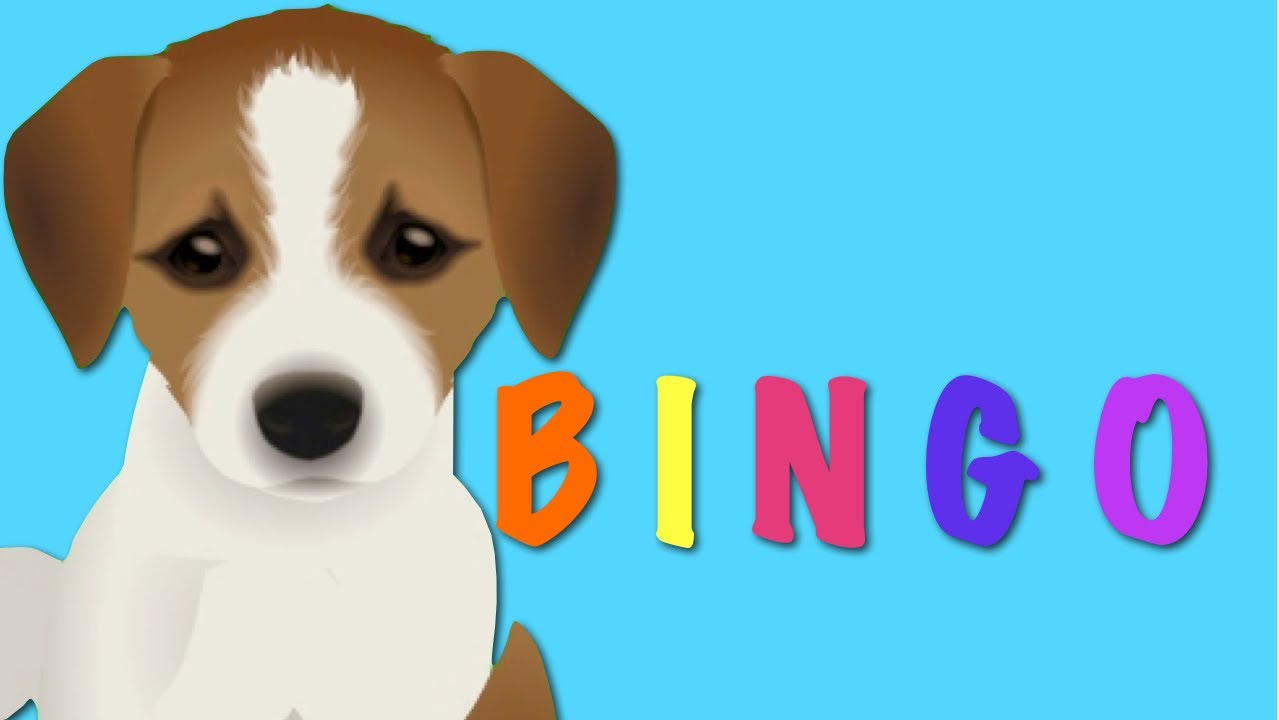 Bingo Dog Song Nursery Rhyme Kids Animation Rhymes For Children You