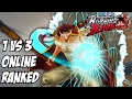 One piece burning blood Whitebeard 1 vs 3 Online ranked matches