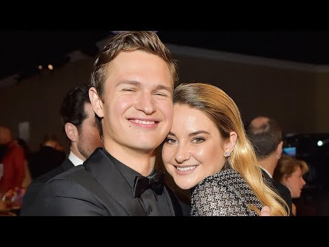 Shailene Woodley & Ansel Elgort Have Fault In Our Stars REUNION At Golden Globes