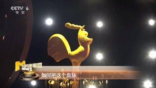 探秘第28届中国金鸡百花电影节闭幕式舞美及红毯设计【中国电影报道   20191126】