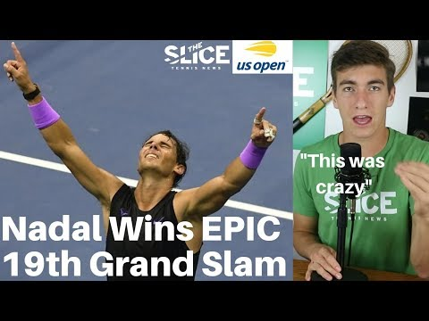 Nadal Wins EPIC US Open Final | THE SLICE