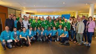 Sportlerwahl 2019 im Firmensitz von F&S