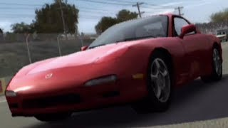 Forza Motorsport 1 - Mazda RX-7 Turbo 1995 - Test Drive Gameplay (HD) [1080p60FPS]