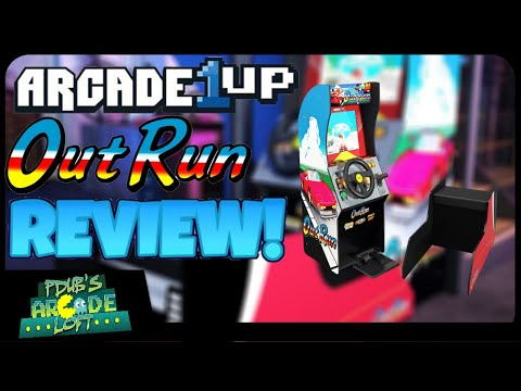 Arcade1Up OutRun Seated Arcade Cabinet Review! from PDubs Arcade Loft