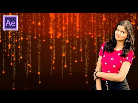 Decorated Particle Background Tutorial In Hindi/Urdu thumbnail