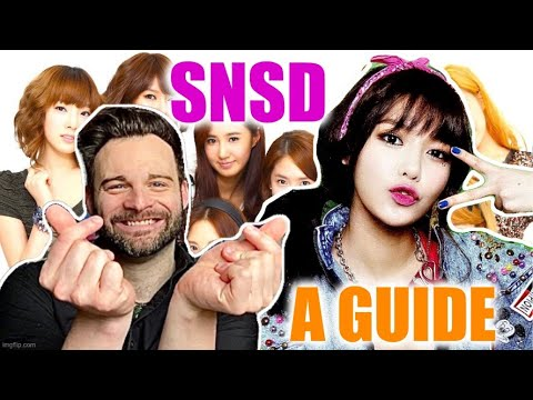 Reacting To A GUIDE TO GIRLS GENERATION! (By K17 Ent.) | I'M READY TO LEARN. 😁