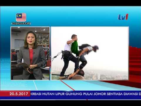 ACARA TERJUNAN BASE SEMPENA SKY TOWER MELAKA BASE JUMP 2017 [20 MEI 2017]