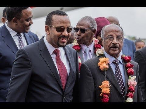 عبر سكايب .. إثيوبيا وإريتيريا تنهيان قطيعة 20 عاماً  - 21:54-2018 / 9 / 16