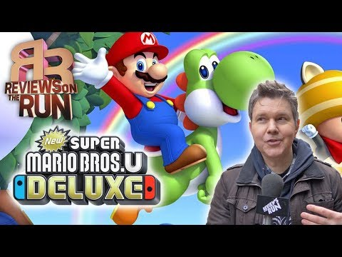 New Super Mario Bros U Deluxe Review Electric Playground Youtube