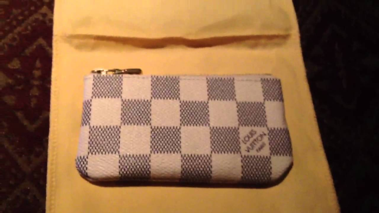 15fc9aefb0c1 Louis Vuitton Azur Clés Key Pouch (Unboxing) - YouTube