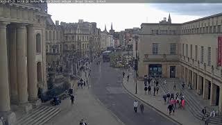 Oxford Martin School Webcam - Broad Street, Oxford