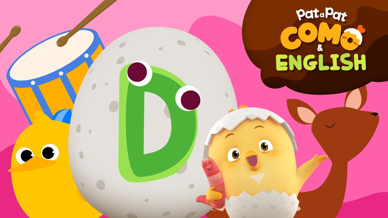 Download Como and English   Learn Alphabet_D   Kids animation