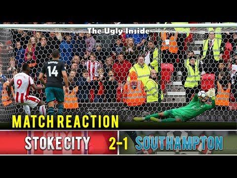 "MATCH REACTION: Stoke City 2-1 Southampton ""Why do Saints take so long to wake up?"" The Ugly Inside"