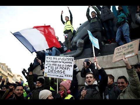 آلاف المتظاهرين مجدداً في فرنسا رفضاً لإصلاح أنظمة التقاعد  - نشر قبل 7 ساعة