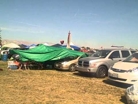 Coachella 2011: Camping layout