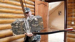 Обучение стрельбе из Традиционного лука: Постановка лука и прикладки, правила стрельбы из лука