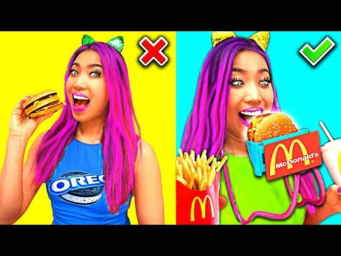 Funny DIY Food Hacks Everyone Should Try!!! (CC Available)