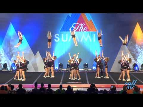 Rockstar Cheer Eagles 2015 Small Senior 2 Finals