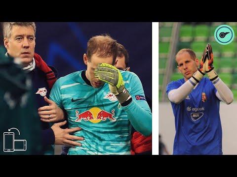 A meccs miután Gulácsi Péter összetört.😲😱 thumbnail