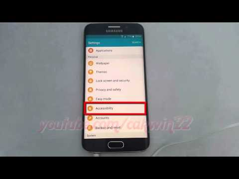 Android Lollipop : How to enable or disable earphone Mono audio on Samsung Galaxy S6