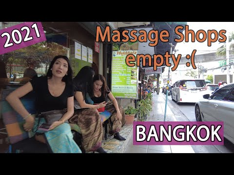 Bangkok Shops are struggling without tourists in Thailand! April 2021