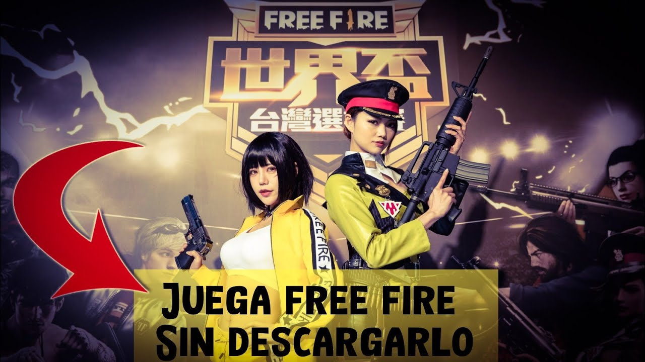 free fire para jugar sin instalar
