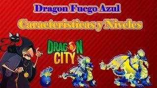 Dragon Fuego Azul De Dragon City