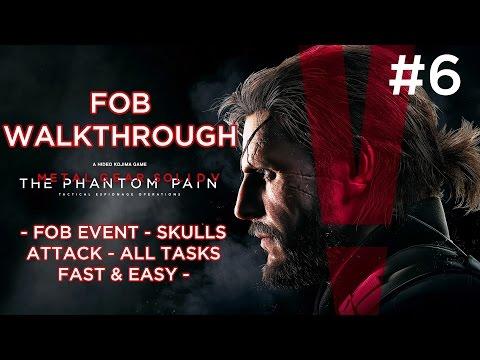 MGSV: TPP - FOB Event - Skulls Attack - All Tasks Fast & Easy