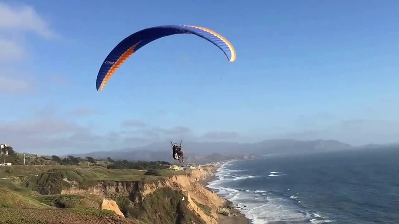 Tandem Paragliding near San Francisco Bay Area