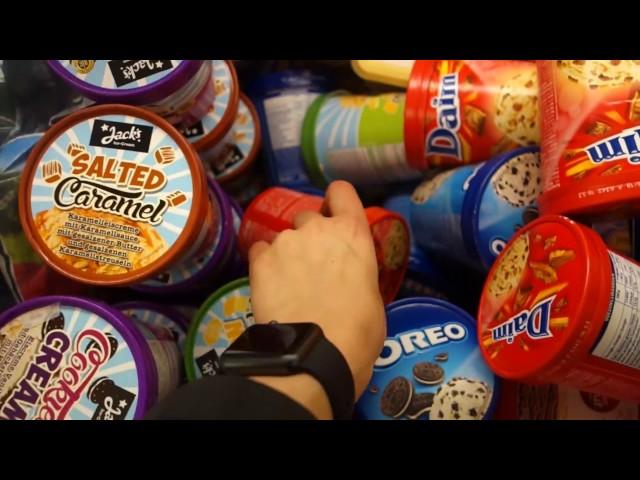 Real & Netto Eissortiment, MAGNUM im Becher, laktosefreies Cremissimo + USA Ankündigung!